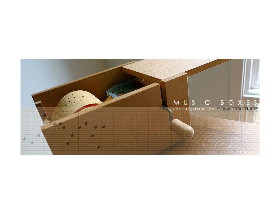 Soniccouture - Music Boxes