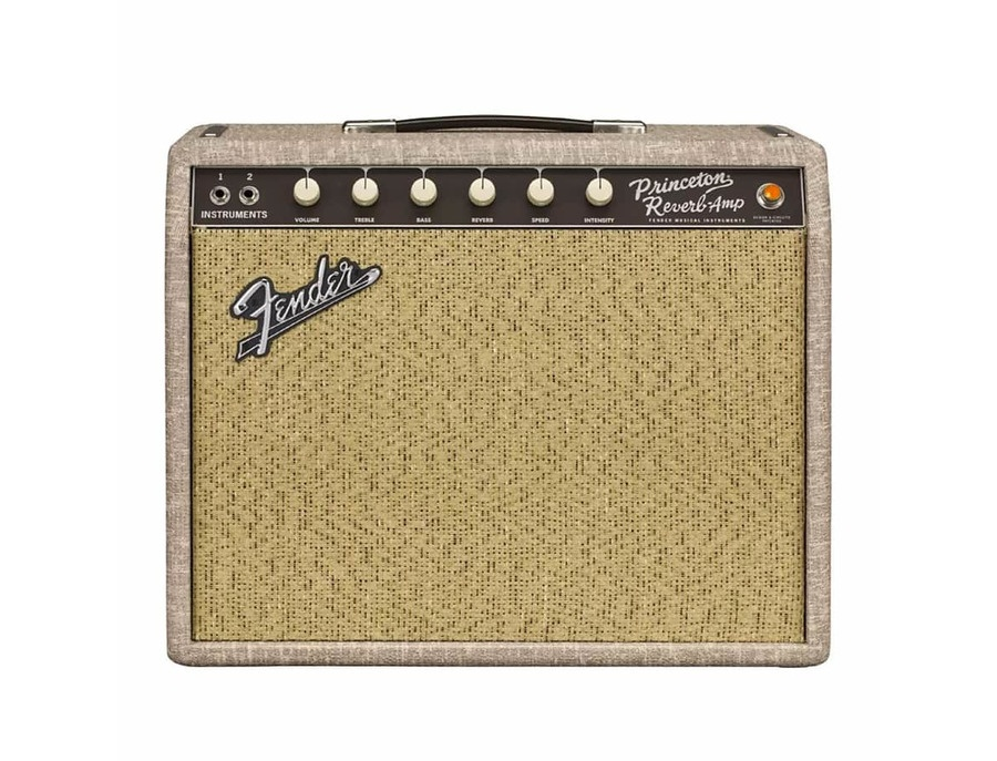 Fender Limited Edition '65 Princeton Reverb 12W 1x12 Tube Guitar Combo Amp Fawn