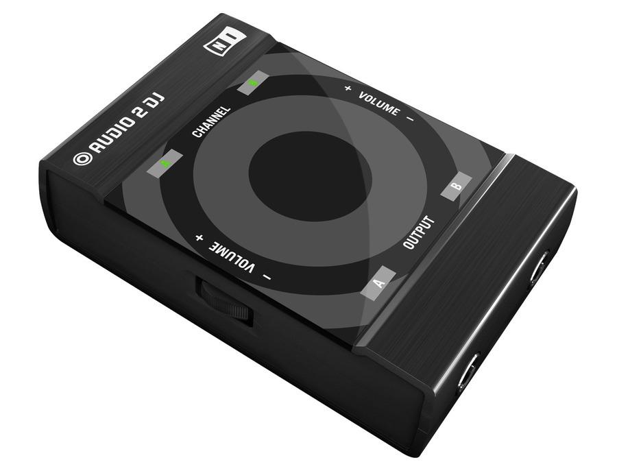Native instruments audio 2 dj soundcard xl