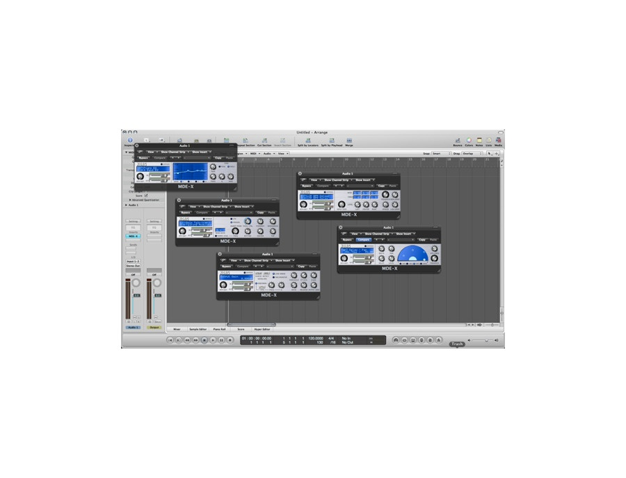 Korg MDE-X: Software Effects Suite