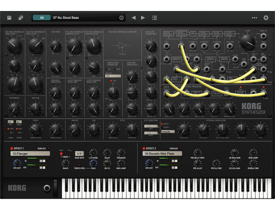 Korg MS-20 Software Synthesizer