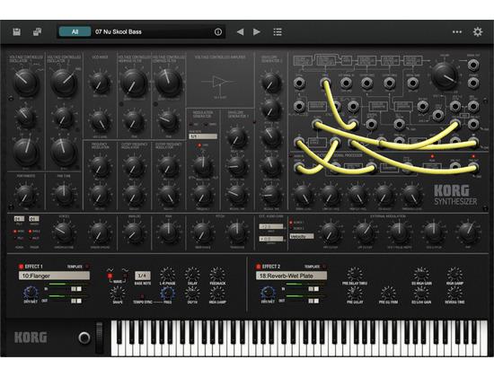 Korg MS-20 Software Synthesizer