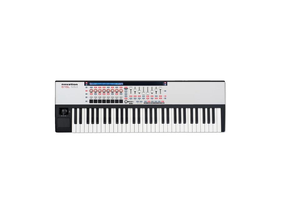 Novation 61sl mkii 61 key usb keyboard controller xl