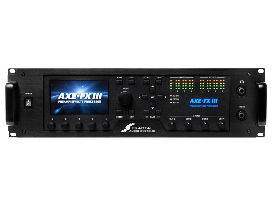 Fractal Audio Axe-FX III Reviews & Prices | Equipboard®
