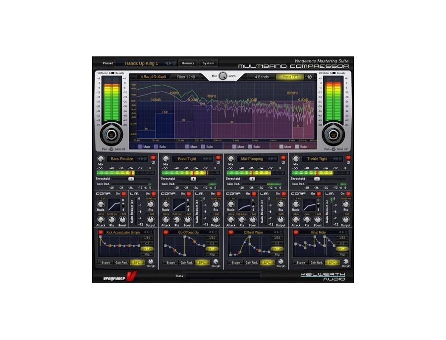 Vengeance Mastering Suite: Multiband Compressor Plugin