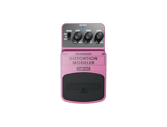 Behringer DM100 Distortion Modeler