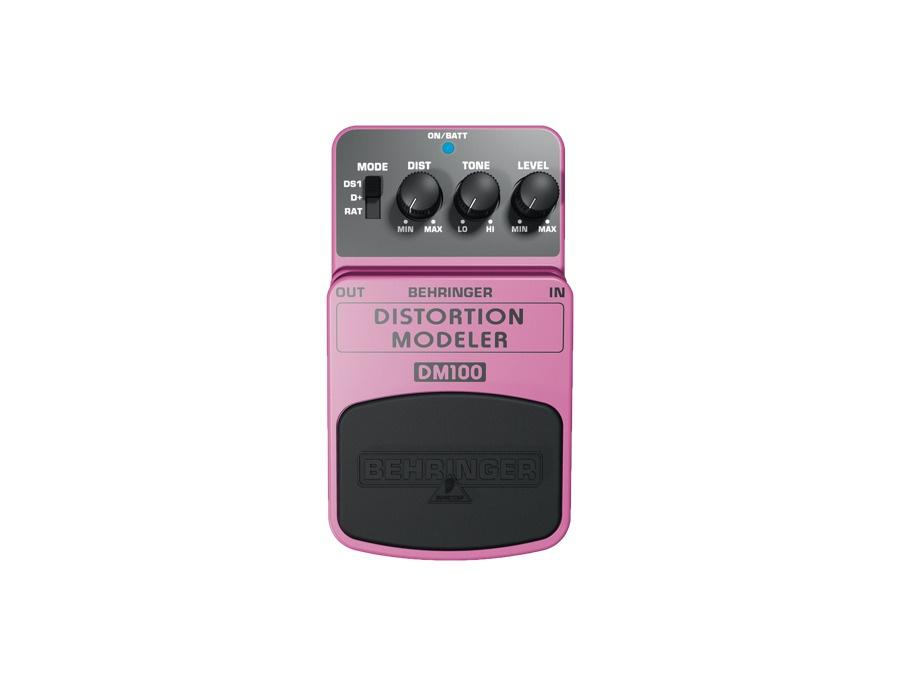 Behringer DM100 Distortion Modeler
