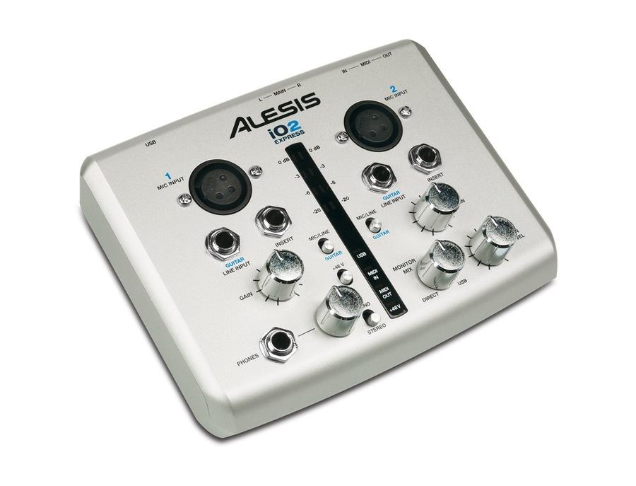 Alesis iO2 Express 24-Bit USB Recording Interface