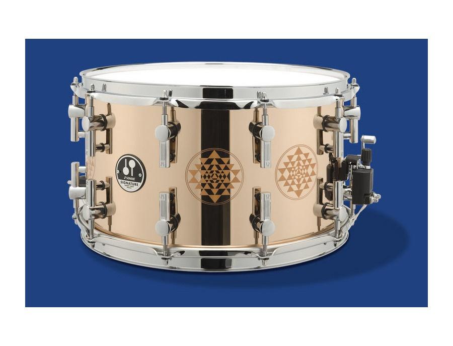sonor danny carey 14x8 signature bronze snare drum reviews prices equipboard. Black Bedroom Furniture Sets. Home Design Ideas