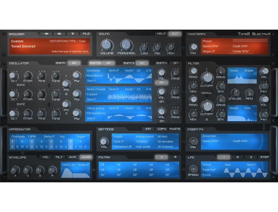 Tone2 electrax xl