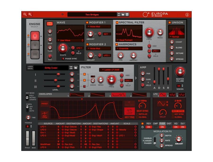 Propellerhead europa software synthesizer xl