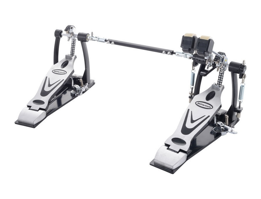 Millenium pd 669 stage double bass pedal xl