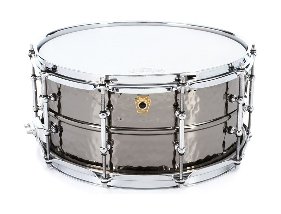 Ludwig hammered black beauty snare drum 6 5 x 14 xl