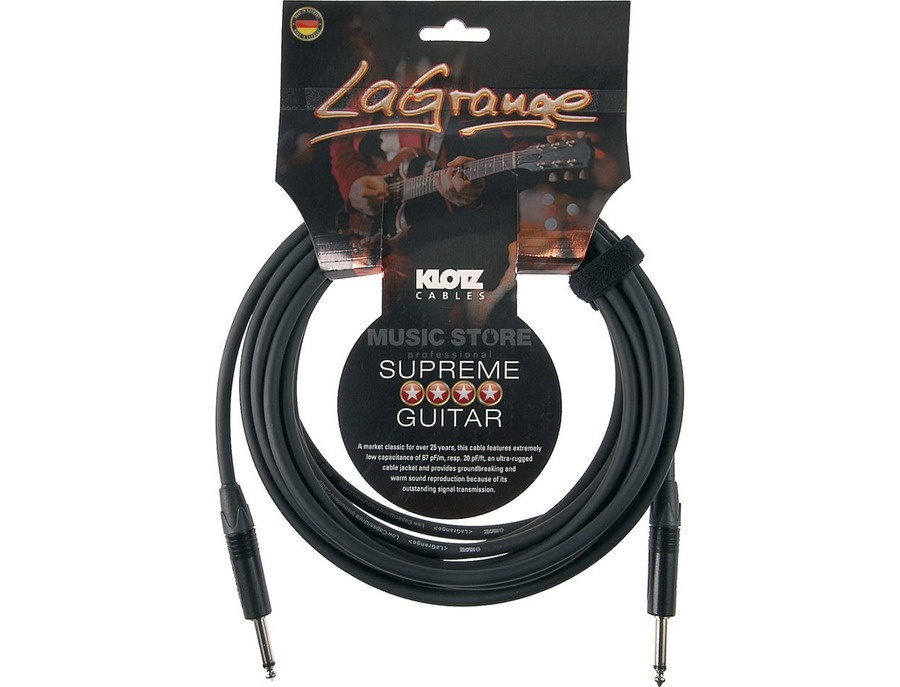Klotz Supreme La Grange LAPRO600 20ft Guitar Insturment Chord Cable Right Angle