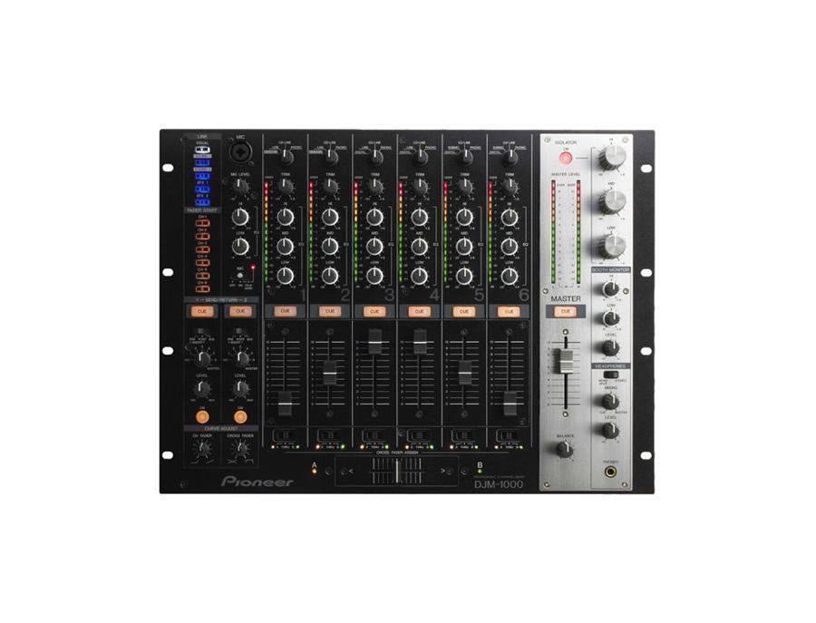 Pioneer djm 1000 6 channel professional digital dj mixer xl