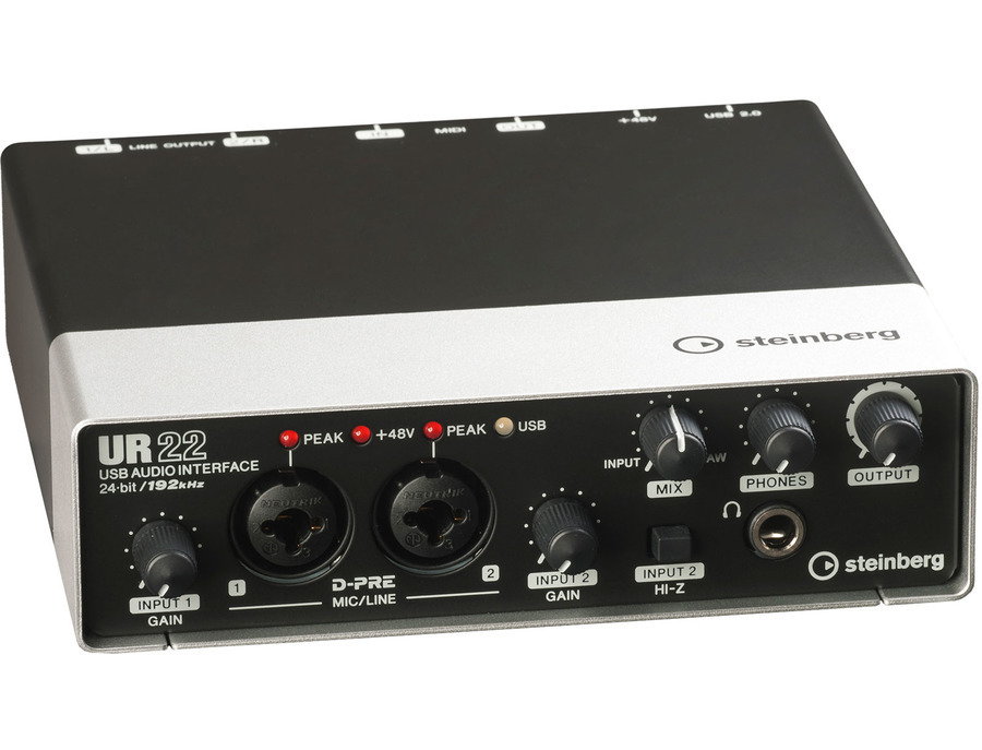 Steinberg ur22 usb audio interface xl