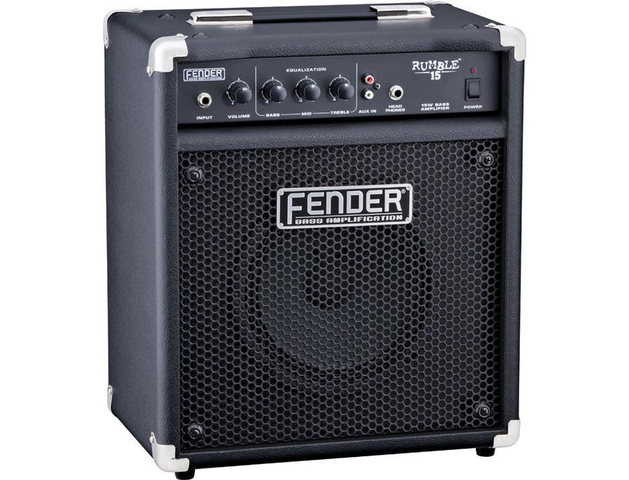 Fender rumble 15 bass amp xl