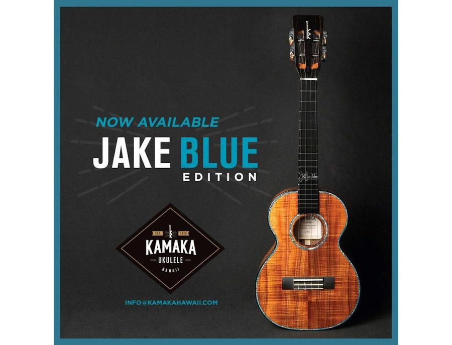 Kamaka jake blue hf 3 d4i jake shimabukuro signature edition tenor xl