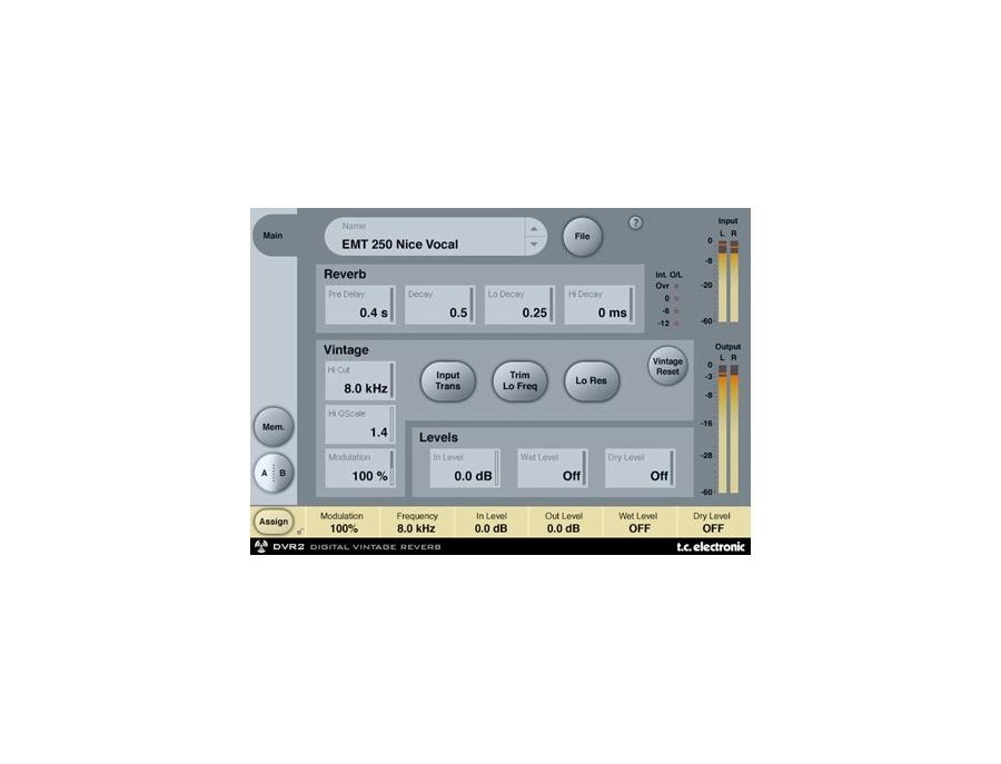 TC Electronic PowerCore Reverb