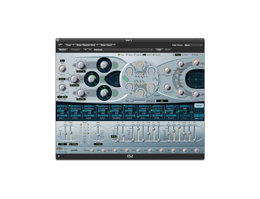 Apple logic es2 software synthesizer xl