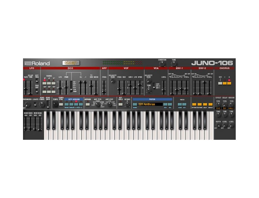 Roland Cloud Juno-106 Reviews & Prices | Equipboard®