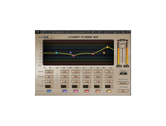 Waves Linear Phase EQ Plugin