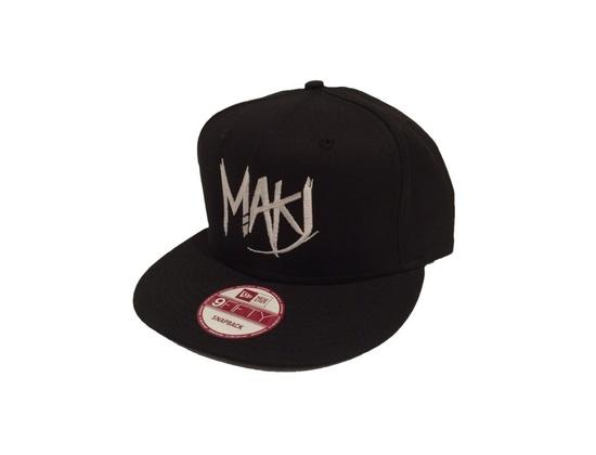MAKJ Logo Snapback Hat