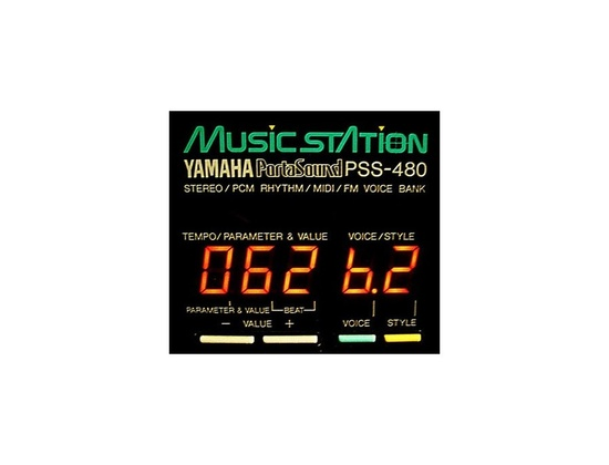YAMAHA PSS 480 2 waves OSC