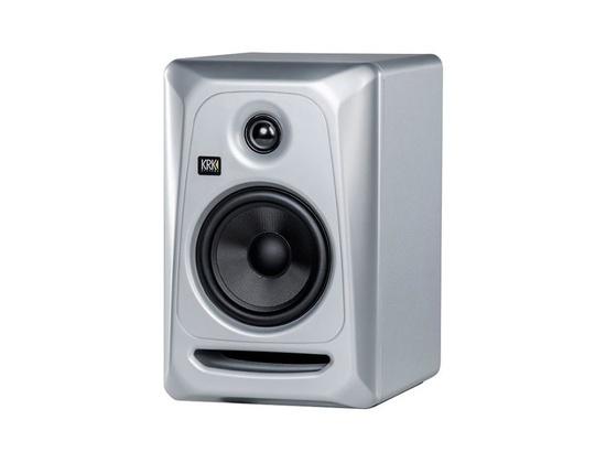 KRK ROKIT 5 G3 Powered Studio Monitor Silver Black Limited Edition