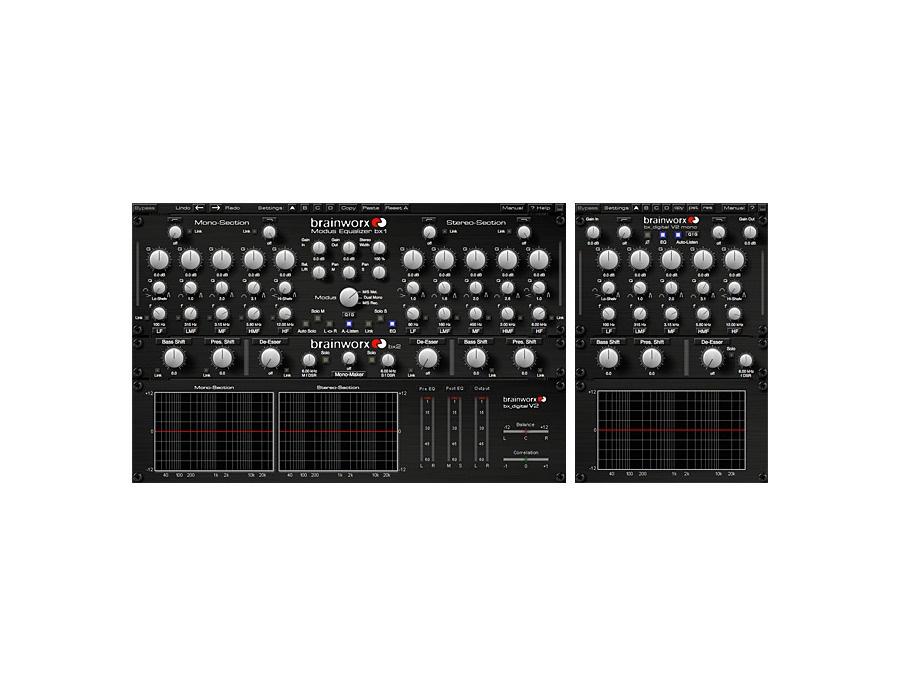 Universal audio brainworx bx digital v2 eq plug in xl