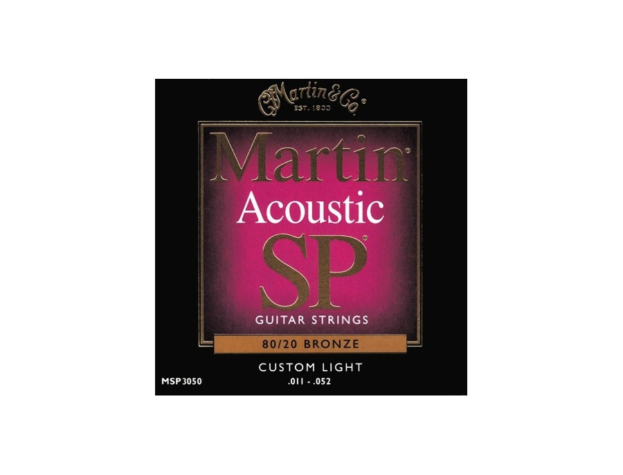 Martin 80/20 Bronze Acoustic SP Custom Light 011-052 Strings