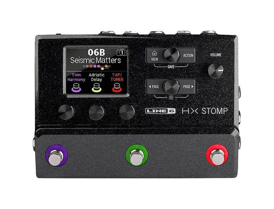Line 6 hx stomp guitar multi effects floor processor xl