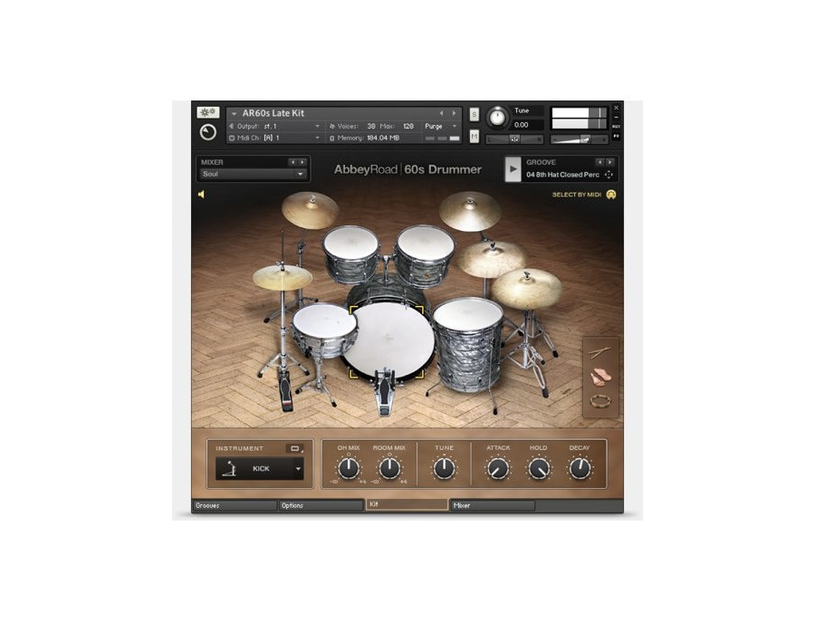 Native instruments abbeyroad 60s drummer xl