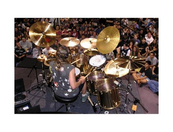 Paiste Danny Carey Custom Bronze Drum Kit