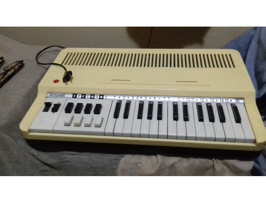 Antonelli golden organ xl