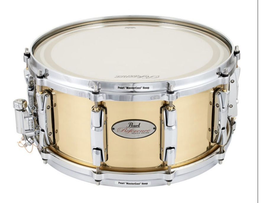Pearl reference brass snare xl