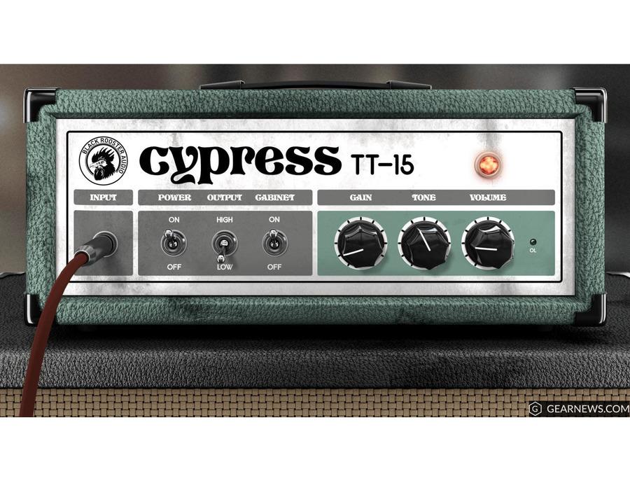 Black rooster audio cypress tt 15 xl