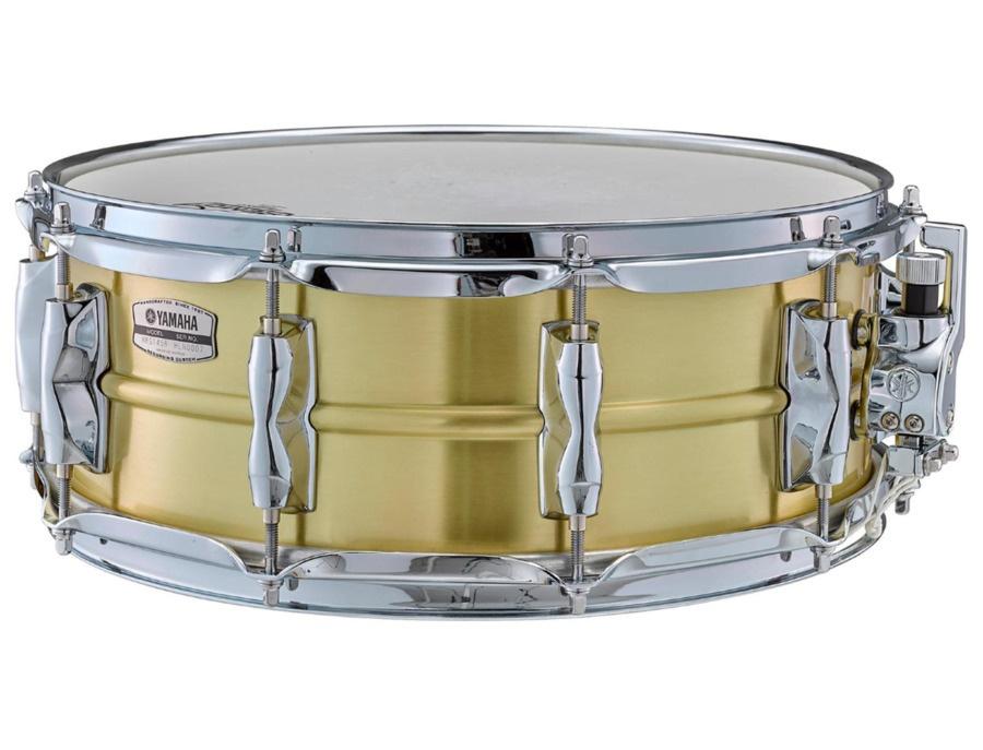 Yamaha recording custom brass snare drum 14 x5 5 xl