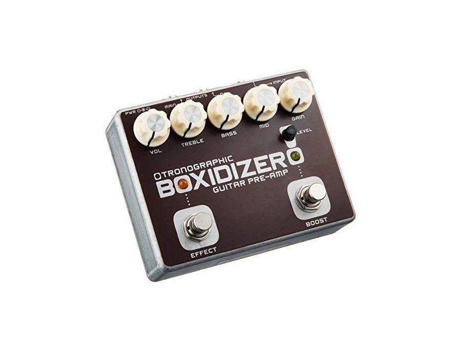 Tronographic Boxidizer Guitar Pre Amp Reviews Amp Prices