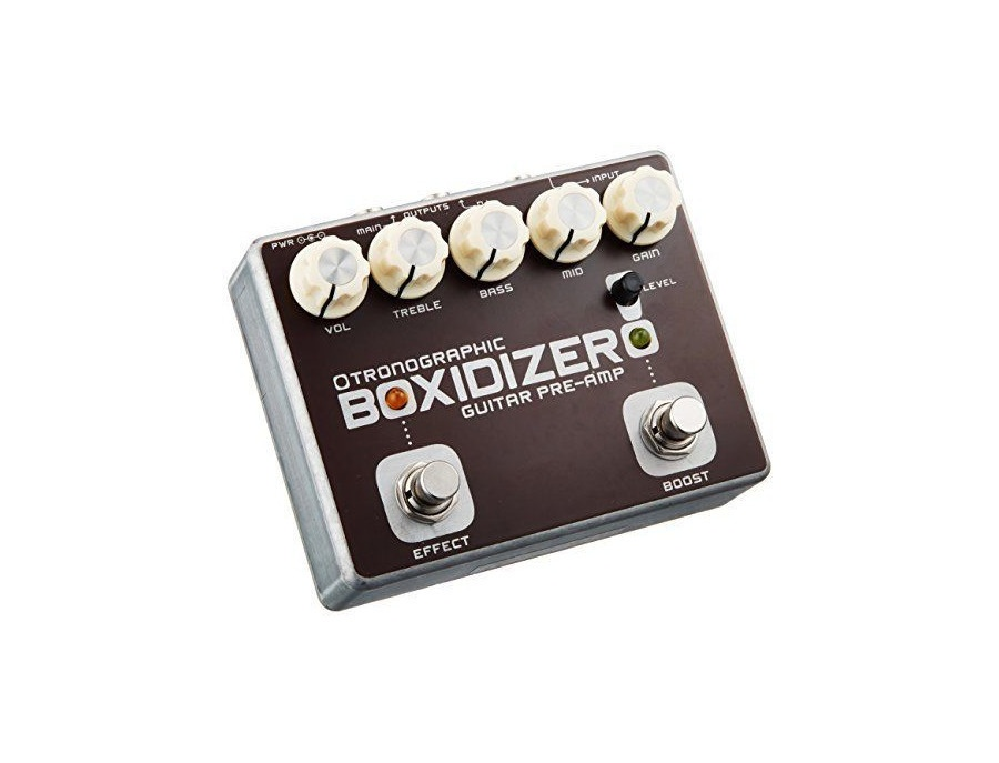 Tronographic boxidizer guitar pre amp xl