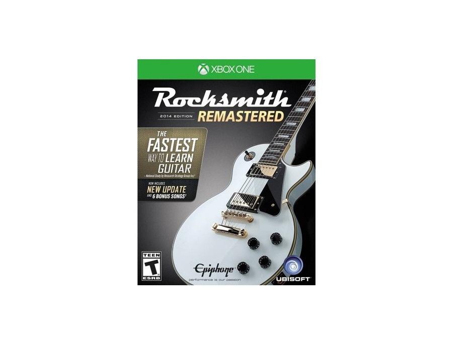 Rocksmith 2014 remastered ubisoft xbox one xl