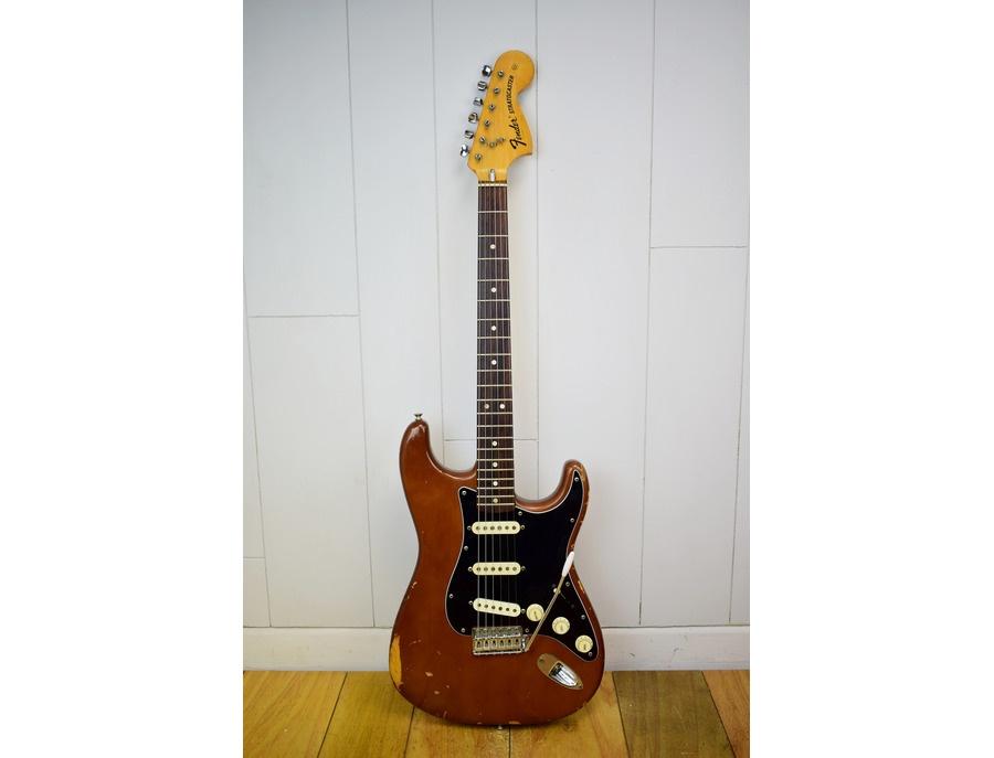 1974 mocha brown fender stratocaster xl