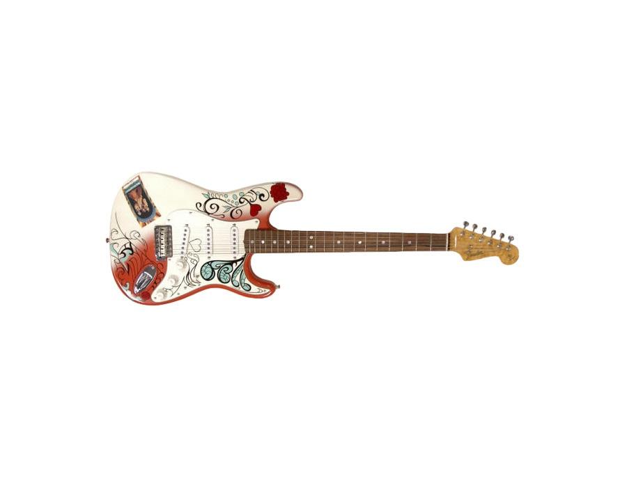 Fender jimi hendrix monterey pop stratocaster xl