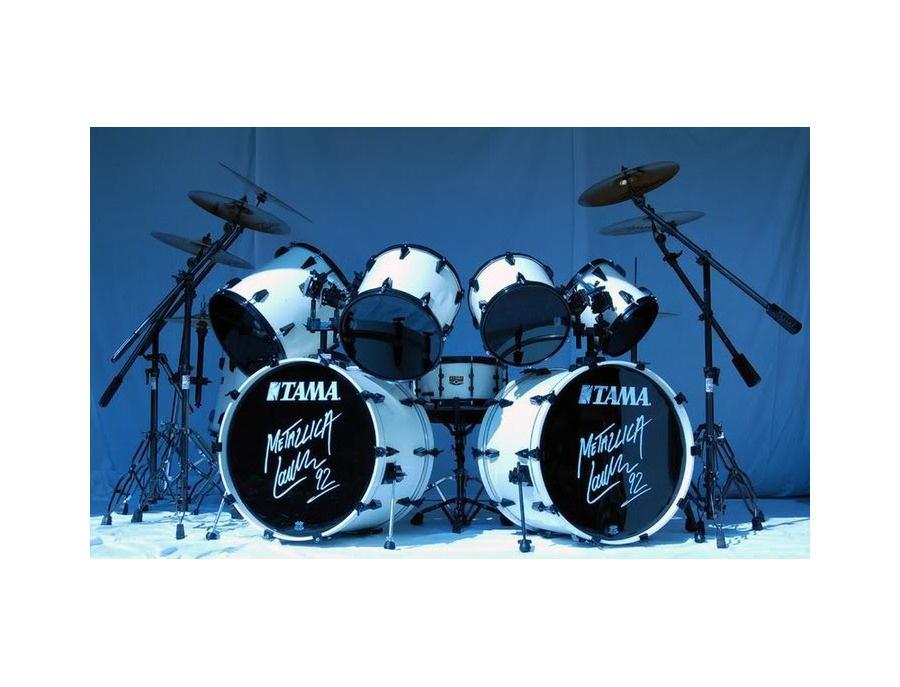 Tama artstar ii 9 pieces lu signature drum kit xl