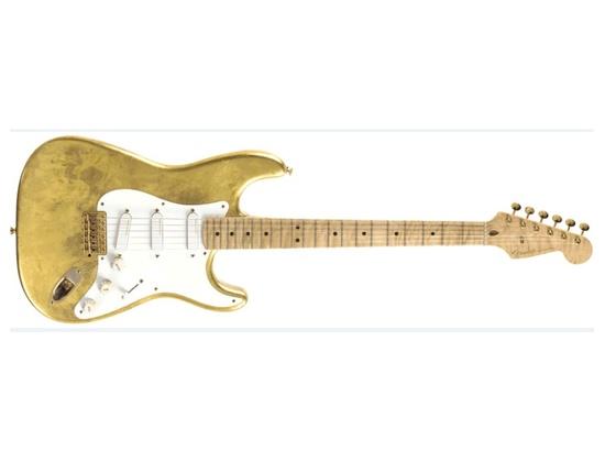 1996 Fender Eric Clapton Master Built Gold Leaf Stratocaster
