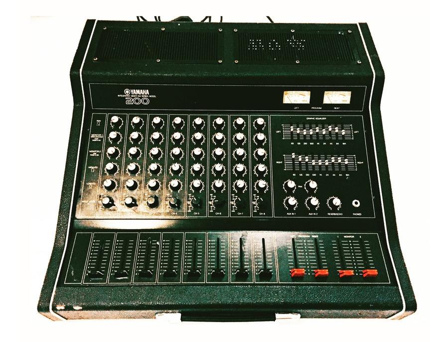Yamaha em200 analog mixer xl