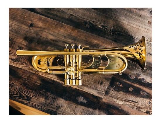 Custom Dave Monette Trumpet