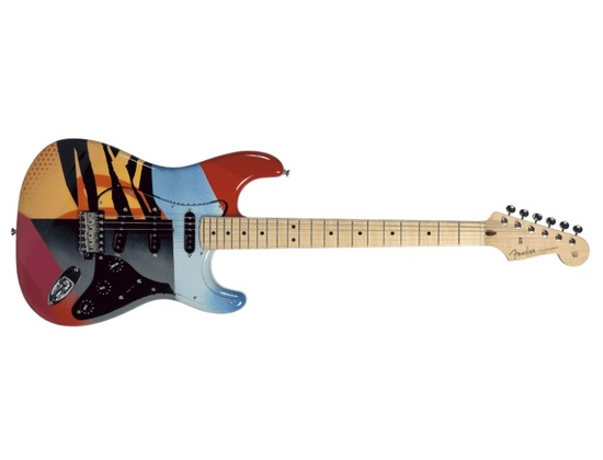 2004 Fender Eric Clapton Master Built Crash Concept Model