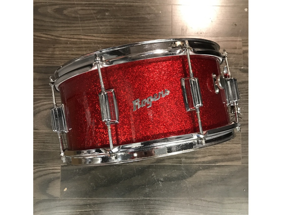 Red sparkle rogers powertone snare xl