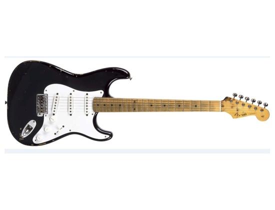 Blackie - 1956 - 1957 Composite Fender Stratocaster